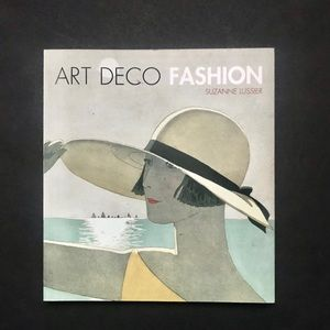 Other - 🖤2/$24🖤 Art Deco Fashion Book
